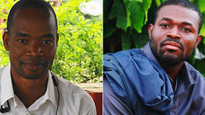 Photos of  Konan Kouassi Vercruysses, left,  and  Kouadio Koffi, 29, right.