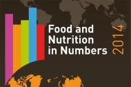 Cover of Food and Nutrition in Numbers by the FAO