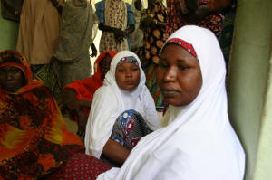 Struggling to cope: IDPs in Maiduguri. Photo: Obinna Anyadike/IRIN
