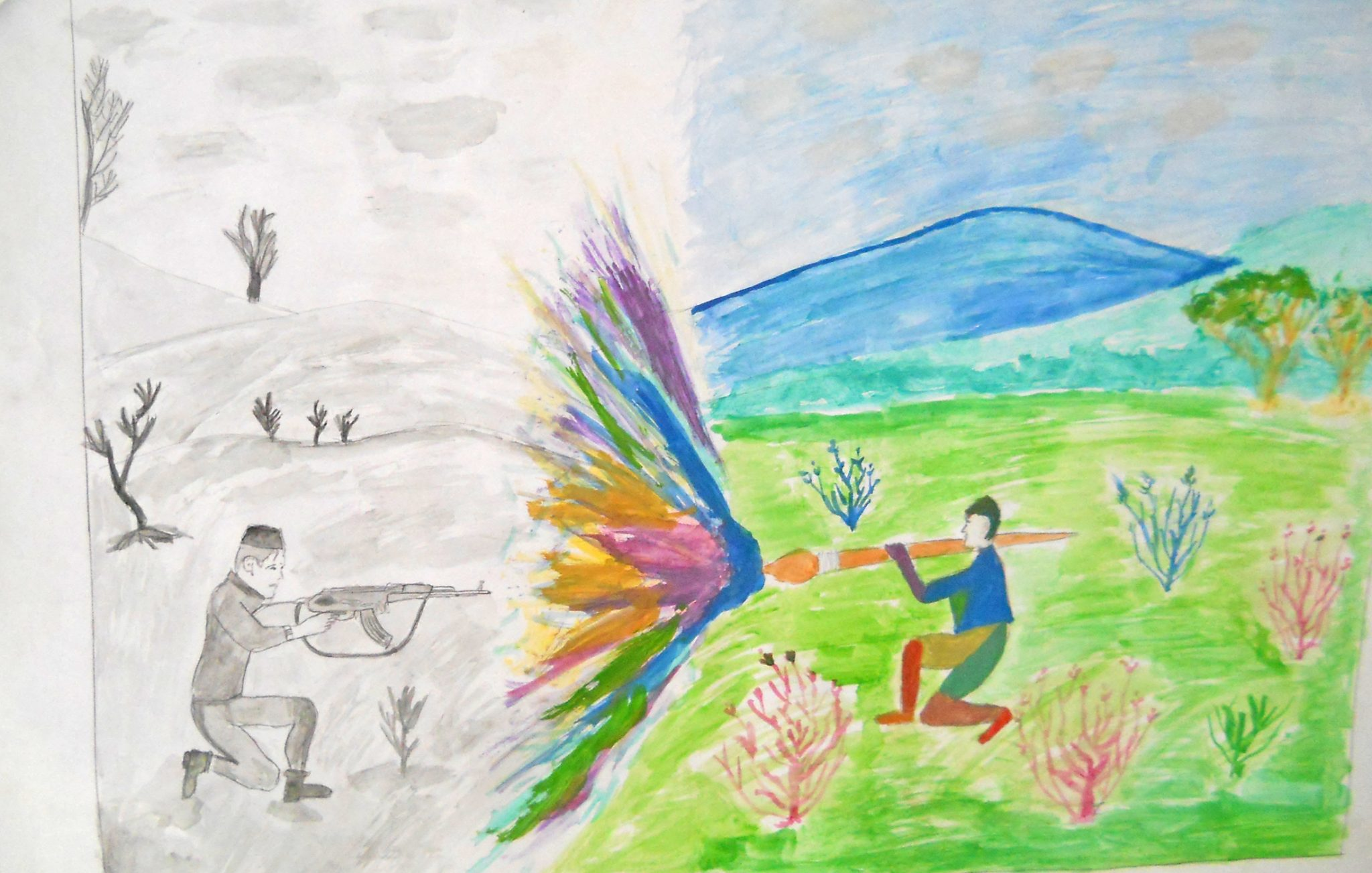 end_to_violence_pakistan_child_painting