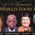 The World Food Prize announces its 2016 Laureates: Drs. Maria Andrade, Jan Low and Robert Mwanga helped in providing Vitamin A-rich orange-fleshed sweet potatoes to Sub-Saharan African countries and Dr. Howarth Bouis created a global multi-sector organization, HarvestPlus, which has released biofortified crops in 30 countries worldwide. Photo: WFP