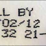 Sell by date sticker