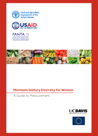 Minimum Dietary Diversity for Women: A guide to measurement