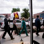 Hillary Clinton in Des Moines on Wednesday. She is scheduled to speak about her economic plans on Thursday near Detroit. Credit Sam Hodgson for The New York Times