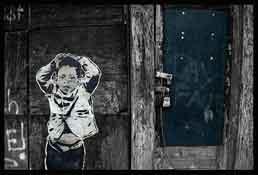 Graffiti on a Baltimore street. Photo: John Brucato/ Flickr