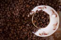 Coffee beans in Dalat, Vietnam. Photo: David Hagerman/The New York Times