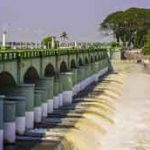 A dam along the Cauvery river. Photo: Thangaraj Kumaravel