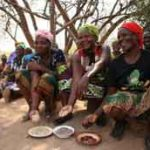 Pulses, such as chickpeas, lentils and kidney beans, are good for nutrition and income, particularly for women farmers who look after household food security, like those shown here at a village outside Lusaka, Zambia. Photo: © Busani Bafana/IPS