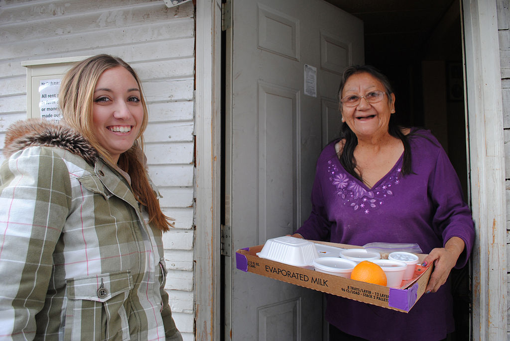 Meals on Wheels Client Asks Congress to #SaveLunch For Millions of At-Risk Seniors