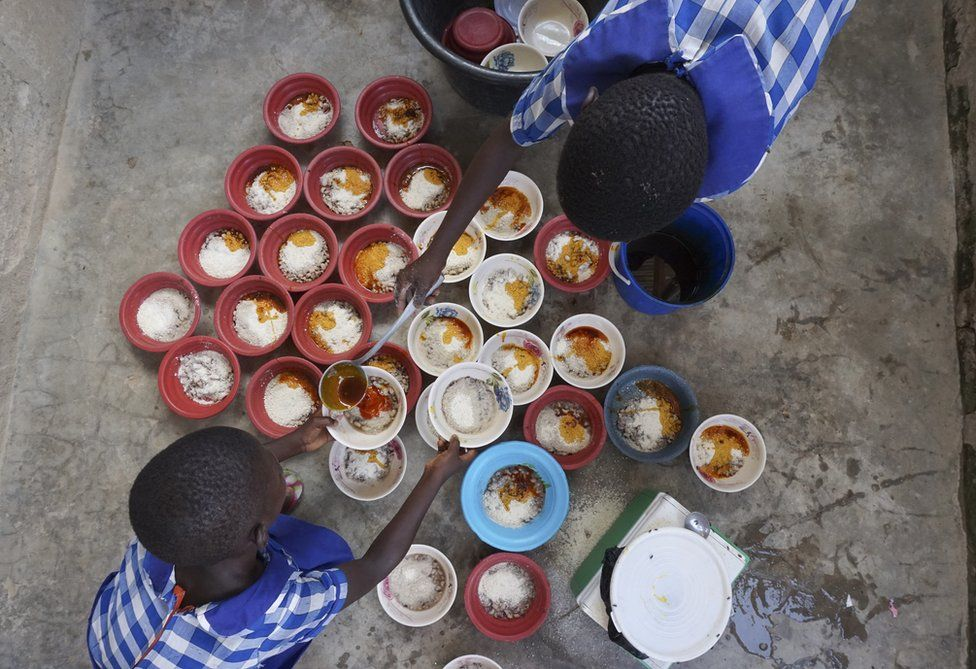 In pictures: The first 1,000 days of hunger