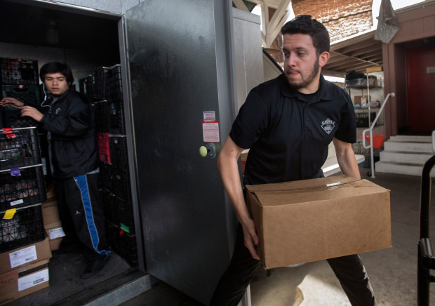 How a California organization uses discarded food to help solve hunger