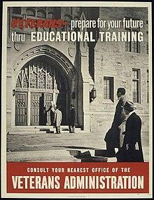 gi bill posterfrom 1945